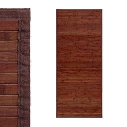 ALFOMBRA NOGAL BAMBÚ 75 X 175 CM