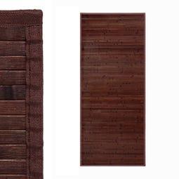 ALFOMBRA CHOCOLATE BAMBÚ 75 X 175 CM