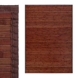 ALFOMBRA NOGAL BAMBÚ 140 X 200 CM